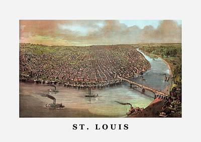 Recently Sold - Animals Royalty-Free and Rights-Managed Images - Vintage Saint Louis Missouri by War Is Hell Store