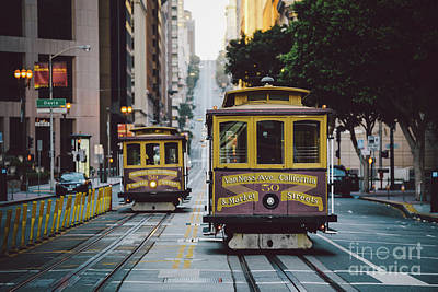 Photograph - Vintage San Francisco by JR Photography