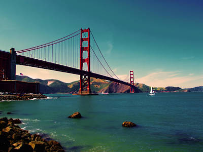 Photograph - Vintage San Francisco by Niels Nielsen