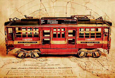 Travelling Wall Art - Photograph - Vintage Scenes From Old Victoria by Jorgo Photography - Wall Art Gallery