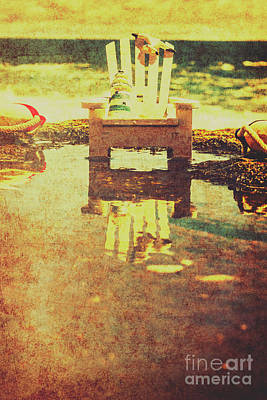 Vintage Seaside Vacationing Print by Jorgo Photography - Wall Art Gallery