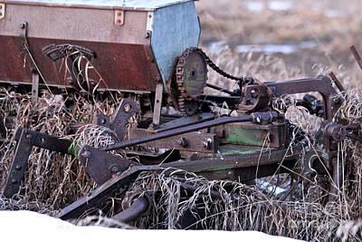 Photograph - Vintage Seeder by Ann E Robson