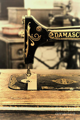 Photograph - Vintage Sewing Machine by Jill Battaglia