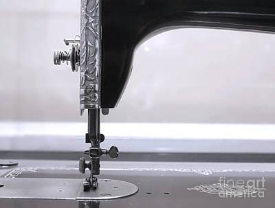 Photograph - Vintage Sewing Machine by Yali Shi