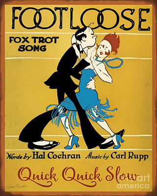 Vintage Sheet Music Covers-jp3502 Art Print by Jean Plout