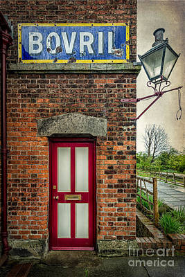 Dilapidated Digital Art - Vintage Sign by Adrian Evans