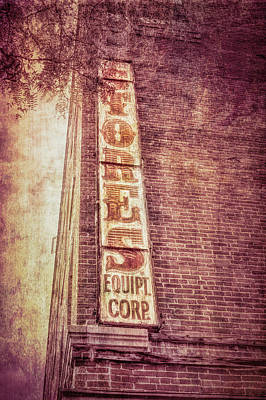 Photograph - Vintage Sign Textured Photograph by Ann Powell