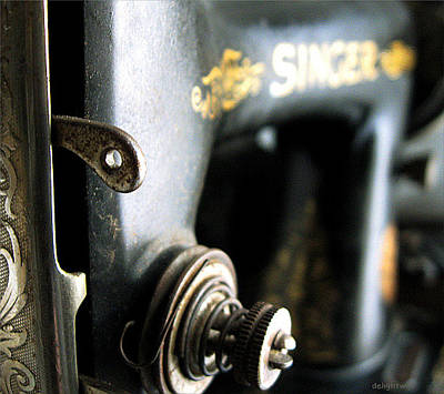 Photograph - Vintage Singer Sewing Machine by Delight Worthyn