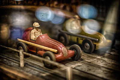 Race Drivers Photograph - Vintage Slots by Scott Wyatt