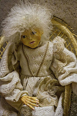 Photograph - Vintage Slovenian Doll by Stuart Litoff
