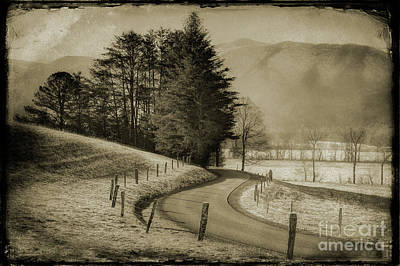 Photograph - Vintage Smokies by Michael Eingle