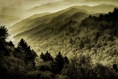 Photograph - Vintage Smokies by Mike Eingle