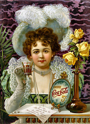 Photograph - Vintage Soft Drink Ad by Vintage Advertising