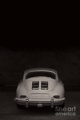 Photograph - Vintage Sports Car by Edward Fielding