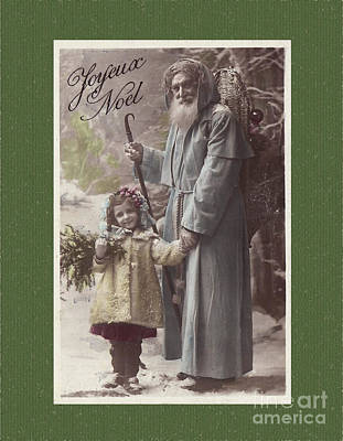 Digital Art - Vintage St Nicholas Postcard by Melissa Messick