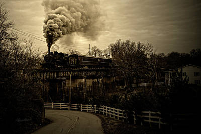 Photograph - Vintage Steam by Sharon Popek