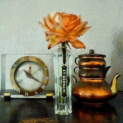 Photograph - Vintage Still Life by Patricia Strand
