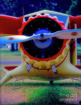 Photograph - Vintage Stinson  by Tom Jelen