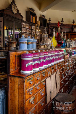 Candy Jar Photograph - Vintage Store by Adrian Evans