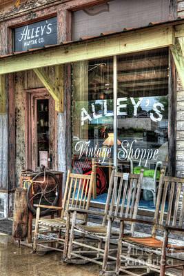 Photograph - Vintage Storefront by Dan Carmichael
