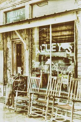 Photograph - Vintage Storefront Fx by Dan Carmichael