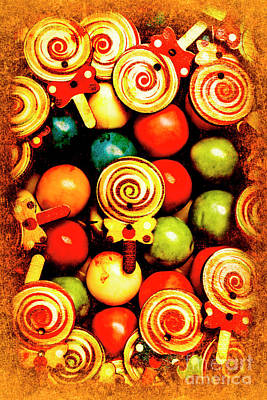 Vintage Sweets Store Print by Jorgo Photography - Wall Art Gallery
