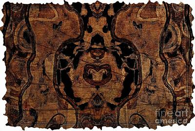 Mixed Media - Vintage Tapestry by Jolanta Anna Karolska