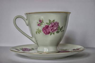 Vintage Teacup Art Print