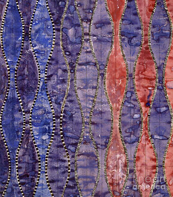 Painting - Vintage Textile Design By Charles Rennie Mackintosh by Charles Rennie Mackintosh