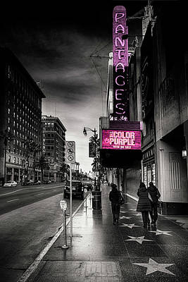 Photograph - Vintage Theater  by Joseph Hollingsworth