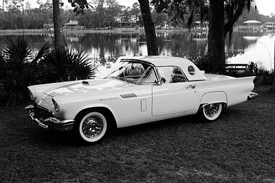 Photograph - Vintage Thunderbird by Lynne Thompson