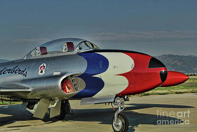 Photograph - Vintage Thunderbird by Steven Parker