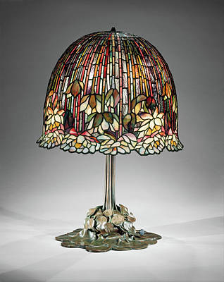 Photograph - Vintage Tiffany Lamp by Rospotte Photography