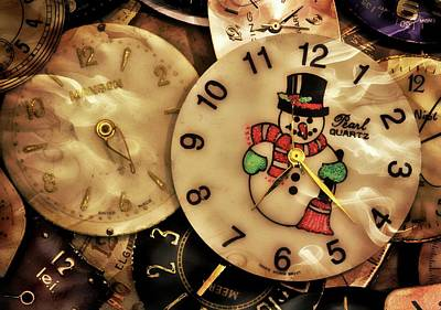 Digital Art - Vintage Time Pieces by Patrice Zinck