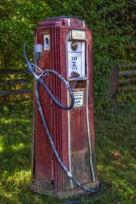 Photograph - Vintage Tokheim Gas Pump by Susan Candelario