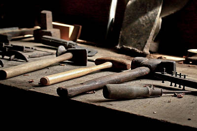 Photograph - Vintage Tools by Steve McKinzie