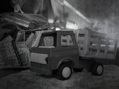 Photograph - Vintage Toy Truck by Kyle West