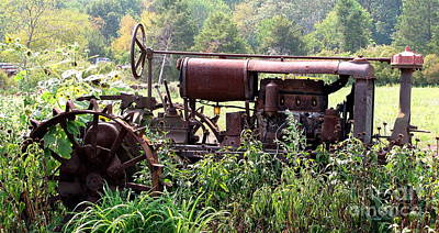 Photograph - Vintage Tractor by Colleen Kammerer