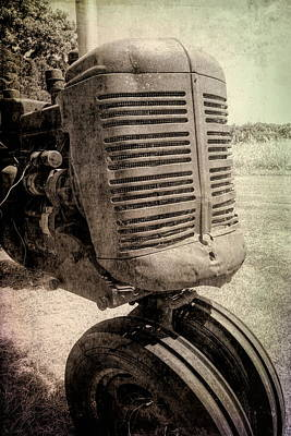 Photograph - Vintage Tractor Detail by Ann Powell