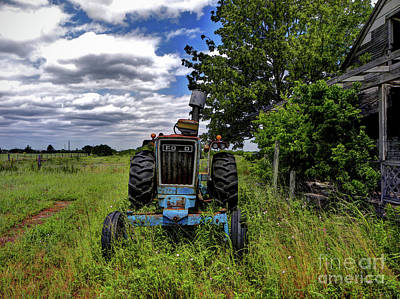 Photograph - Vintage Tractor by Savannah Gibbs