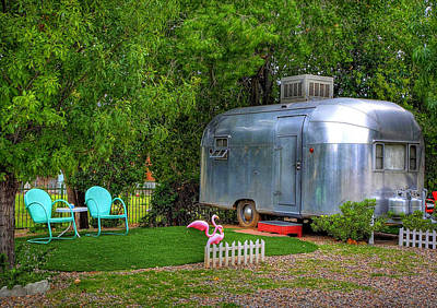 Photograph - Vintage Trailer by Charlene Mitchell