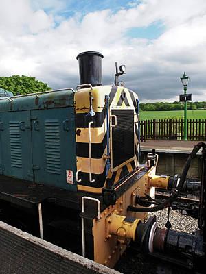 Photograph - Vintage Train Buffers by Gill Billington