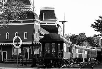 Photograph - Vintage Train Station by John Clark
