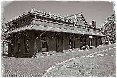 Photograph - Vintage Train Station by Mike Martin