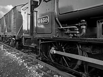 Photograph - Vintage Train Wheels by Gill Billington
