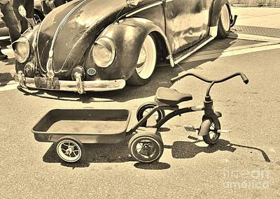 Photograph - Vintage Transportation by Bob Sample