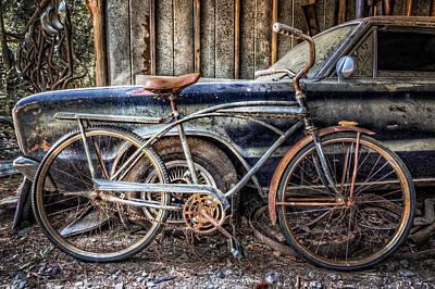 Photograph - Vintage Transportation by Debra and Dave Vanderlaan