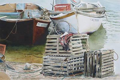 Painting - Vintage Traps by Karol Wyckoff