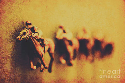 Horseman Photograph - Vintage Trots by Jorgo Photography - Wall Art Gallery