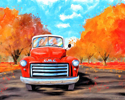 Mixed Media - Autumn Is Timeless by Mark Tisdale